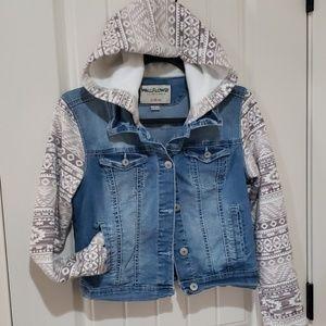 Wallflower denim jacket